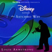 Louis Armstrong - Disney Songs the Satchmo Way  artwork