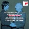 Lutoslawski: Symphonies Nos. 3 & 4, Les espaces du sómmeil