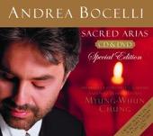 Andrea Bocelli - Sacred Arias  artwork