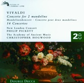 Academy of Ancient Music, Christopher Hogwood, Joshua Rifkin, New London Consort, Philip Pickett & The Bach Ensemble - Vivaldi: 14 Concertos (For Mandolin, Flute, Trumpet, Violin, Etc.)  artwork