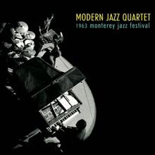 1963 Monterey Jazz Festival, The Modern Jazz Quartet