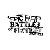 Cover to Epic Rap Battles of History's Epic Rap Battles of History Season 2