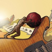 Paul Gilbert - Stone Pushing Uphill Man  artwork