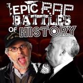 Epic Rap Battles of History - Steven Spielberg vs Alfred Hitchcock artwork