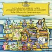 Berlin Philharmonic Orchestra & Herbert von Karajan - Ravel: Boléro, M. 81 - Debussy: La mer, L. 109 - Mussorgsky: Pictures at an Exhibition  artwork