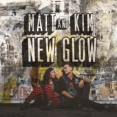 Matt and Kim - New Glow  artwork