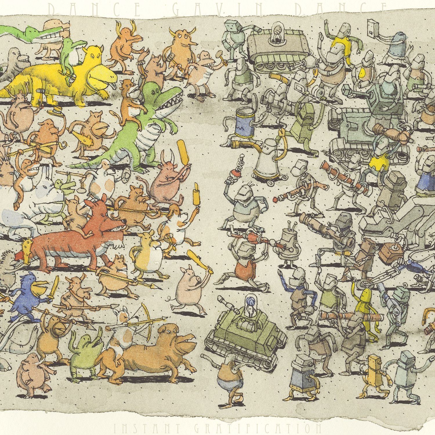 Dance Gavin Dance - Instant Gratification (2015)