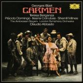 London Symphony Orchestra, Plácido Domingo, Claudio Abbado, Teresa Berganza, Ileana Cotrubas, Sherrill Milnes & The Ambrosian Singers - Bizet: Carmen  artwork