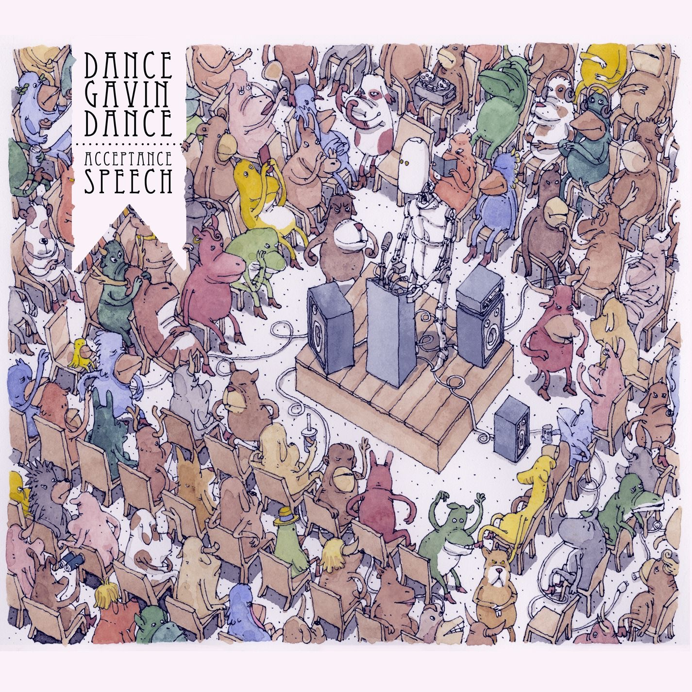 Dance Gavin Dance - Acceptance Speech (2013)