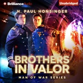 H. Paul Honsinger - Brothers in Valor: Man of War, Book 3 (Unabridged)  artwork