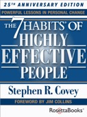 Stephen Covey - The 7 Habits of Highly Effective People  artwork