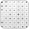 Symbool toetsenbord - voegt symbolen, Emoji en ascii keyboard toe