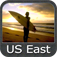 Marine: US East (From Texas to Maine) - GPS Map Navigator