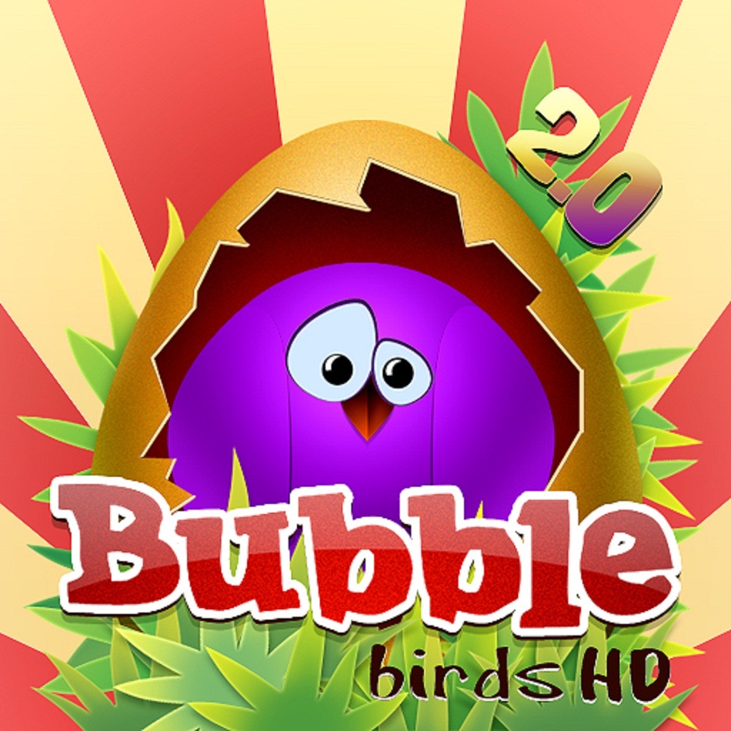 Bubble Birds HD 2.0 iOS App