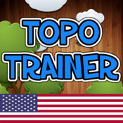 TopoTrainer United States of America - Geography for everyone!