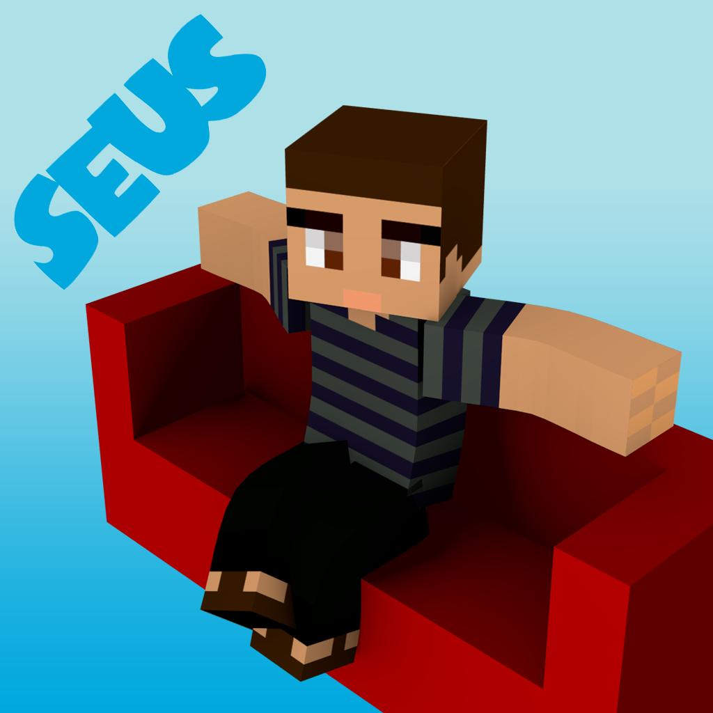 Furniture Setups Pro and Skin Stealer for Minecraft