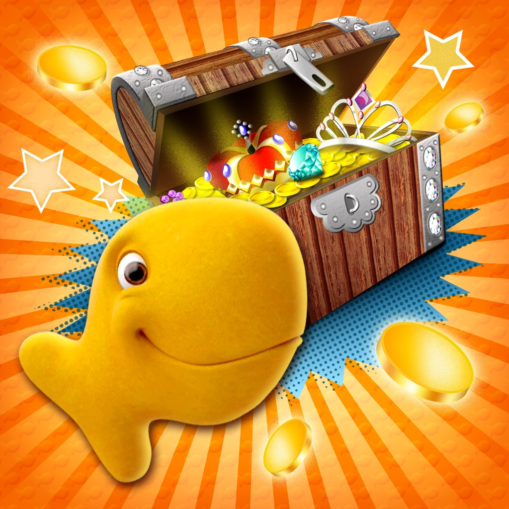 Download goldfish games 3d treasure hunt for iphone appszoom for Gold fish card game