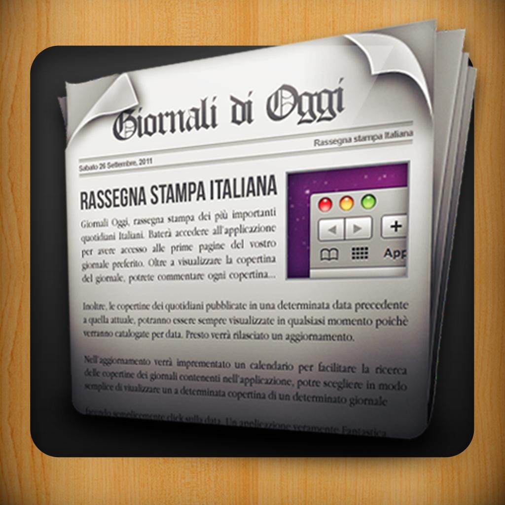 Giornali Oggi - Quotidiani Italiani (AppStore Link)