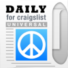Daily, an app for Craigslist (Universal Version) - Shopping, Cars, Dating, Jobs + Other Mobile Classifieds