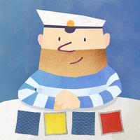 Fiete Match - lustiges Memo-Spiel gegen einen schlauen Seemann