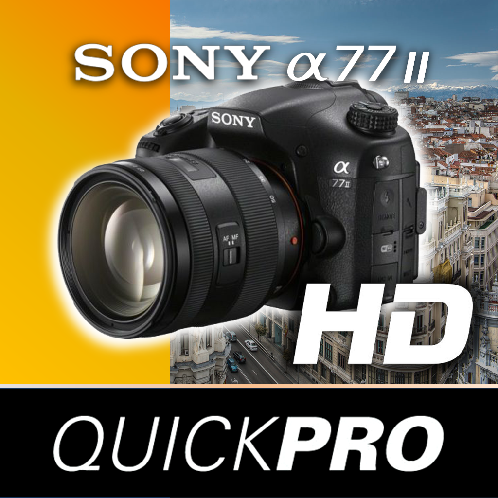Sony Alpha 77 II from QuickPro