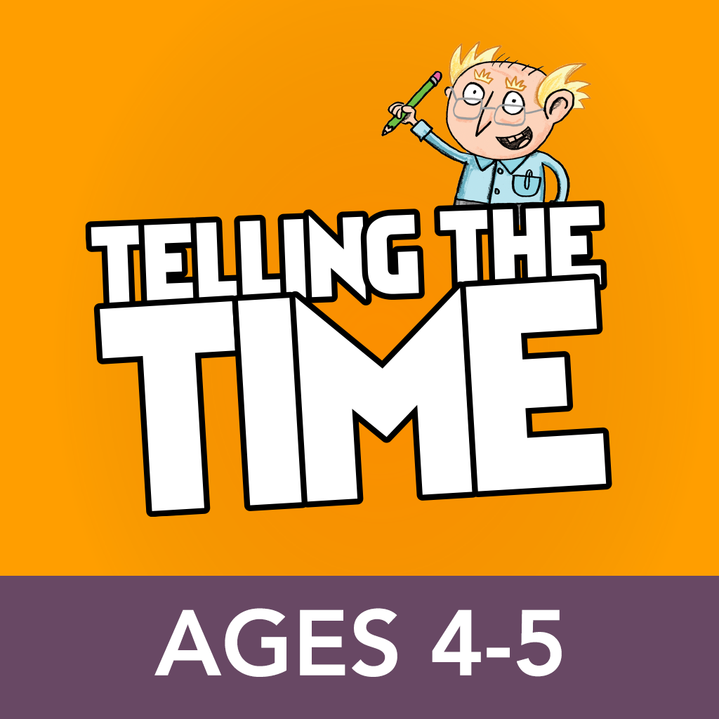 Telling the Time Ages 4-5: Andrew Brodie Basics