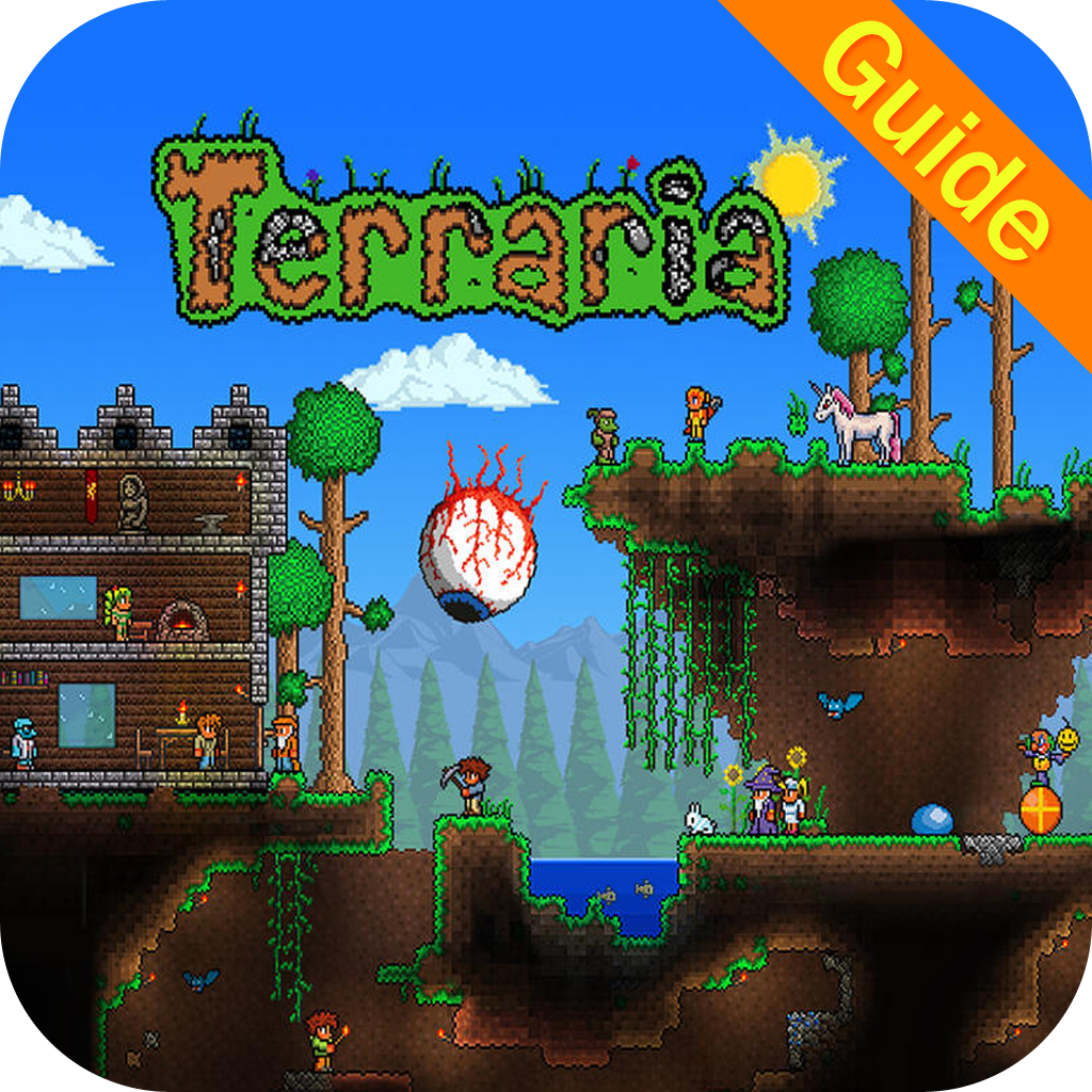 Walkthrough & Guide for Terraria - Mods, Maps, Crafting, Recipes, Building,  Items, and Survival Tips(Unoffical)