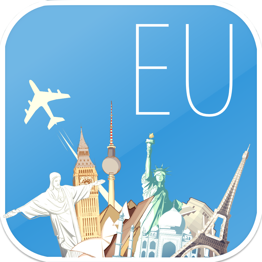 Europe Offline map & flights. Airline tickets, airports, car rental, hotels booking. Free navigation.