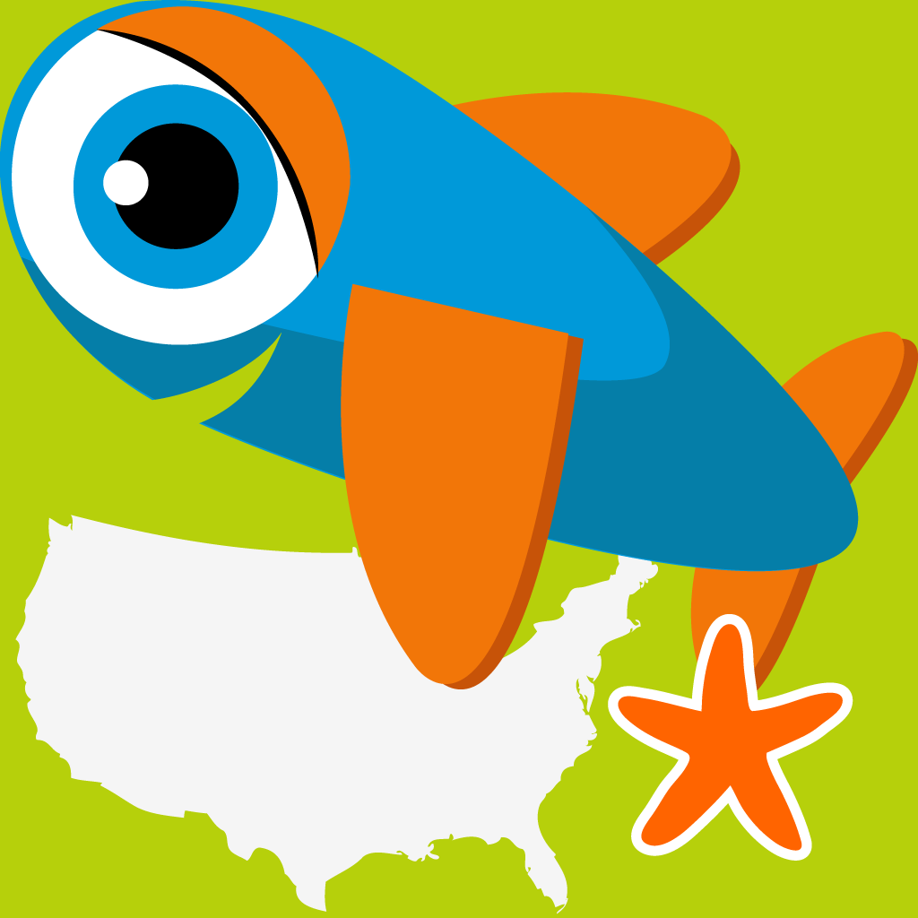 Smart Fish: States Run - learn United States geography in this fast-paced game