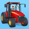 小小农场主-为儿童设计的拖拉机、收割机和农场动物