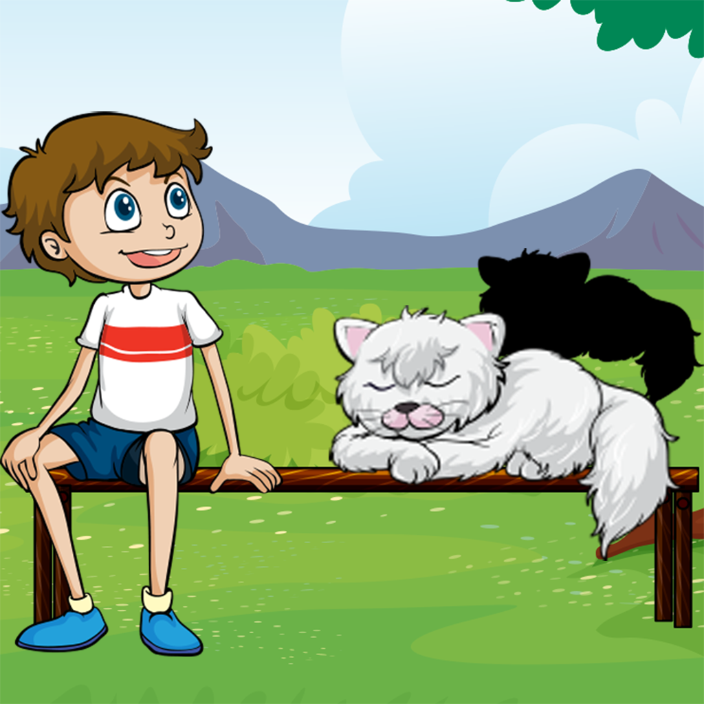 All Cats! Shadow Game to Learn and Play for Children