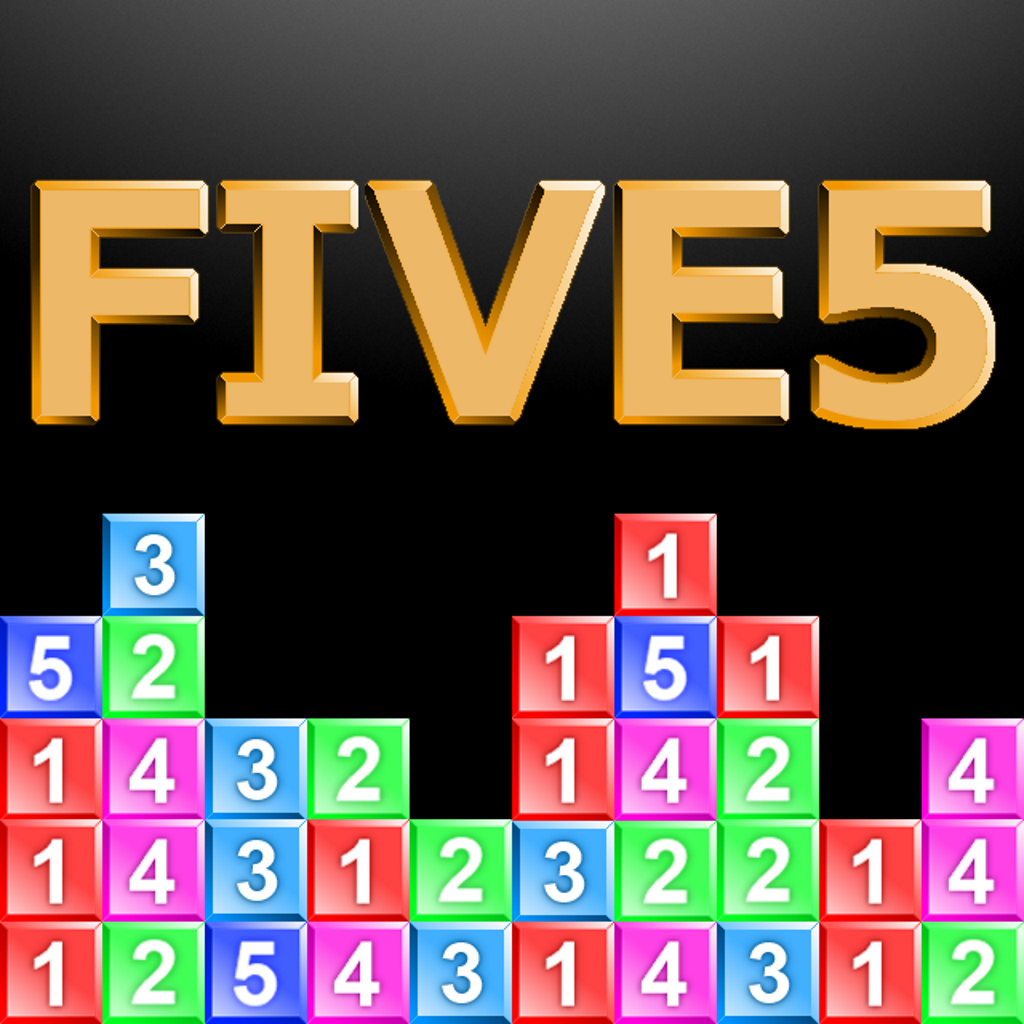 FIVE5 - Number Puzzle Adventure