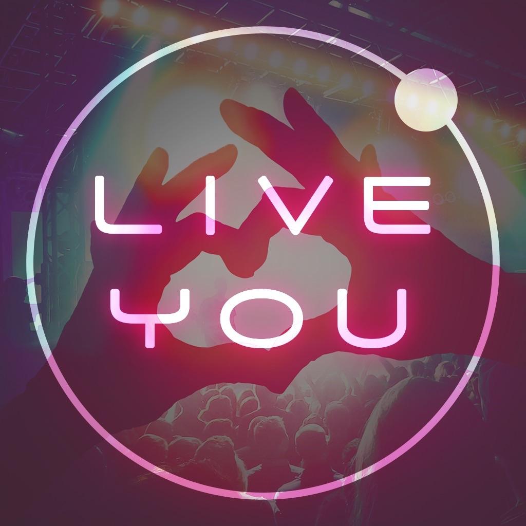 好きな曲をライブに-LIVE YOU(ライブユー) 無料音楽プレイヤー