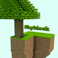 Skyblock : Survival Mini Game with 3D blocks