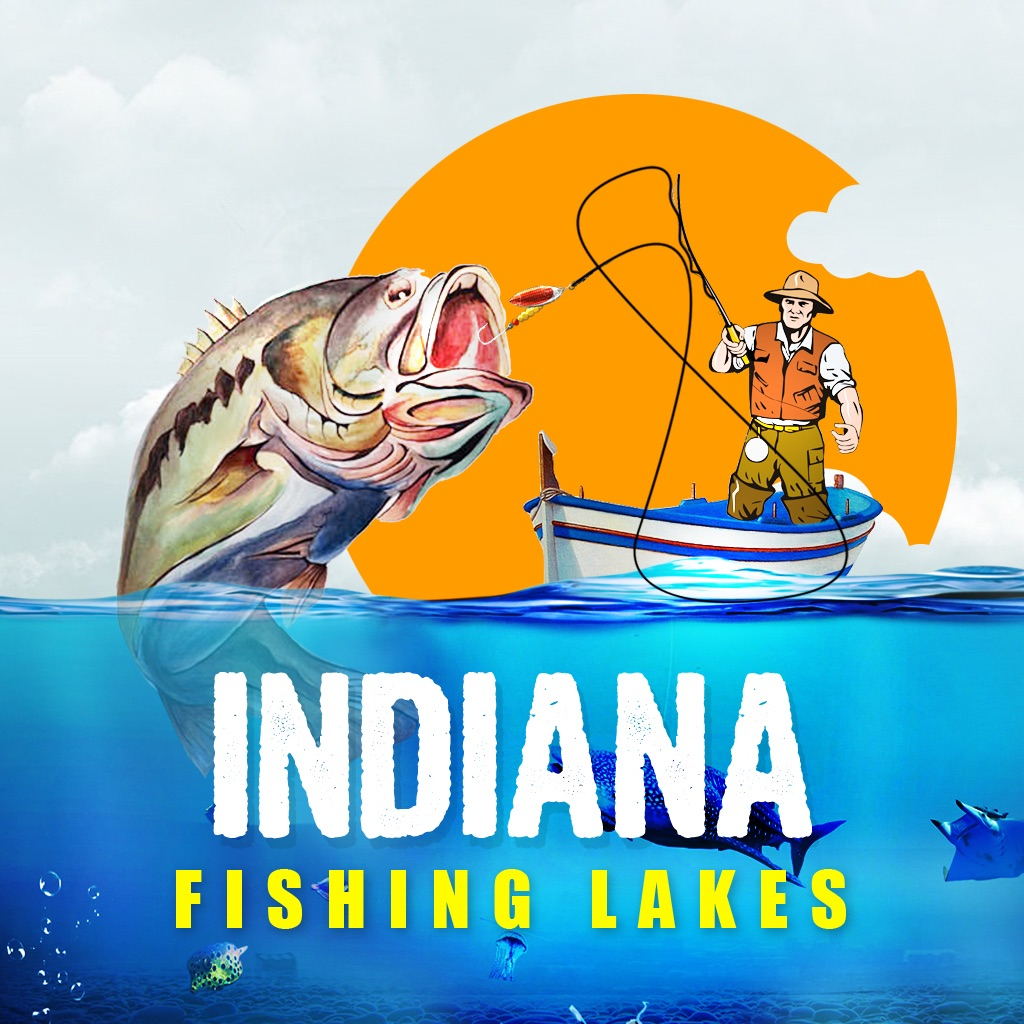 Indiana fishing lakes by praveen dandi for Fishing in indiana