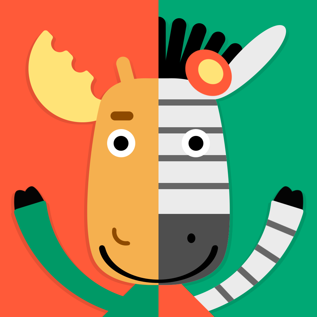 Moose & Zebra. Magazine for Kids