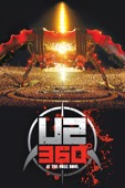 U2 - U2360° At the Rose Bowl  artwork