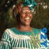 Wangari Muta Maathai - Nobel Laureate Wangari Muta Maathai with Chris Johnsat the 92nd Street Y artwork