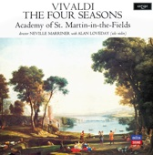 Alan Loveday, Academy of St. Martin in the Fields & Sir Neville Marriner - Vivaldi: The Four Seasons обложка