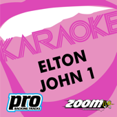 Zoom Platinum Artists, Vol. 105: Hits of Elton John (Karaoke Version)