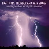 Amazing Two Hour Midnight Thunderstorm - Lightning, Thunder and Rain Storm