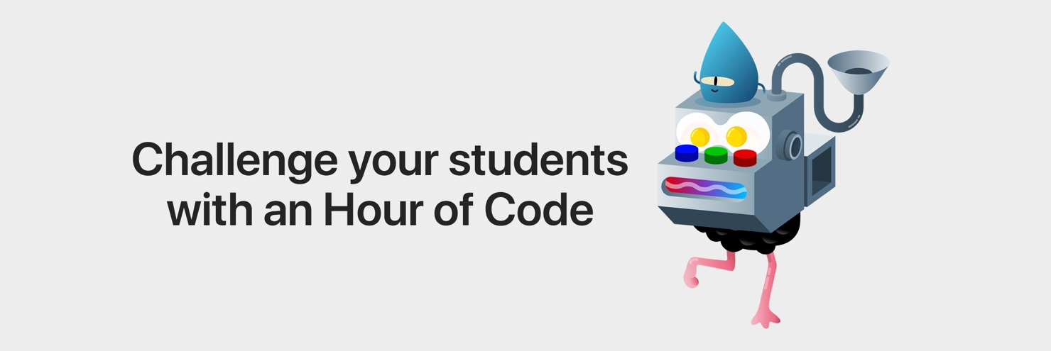 Challenge your students with an Hour of Code