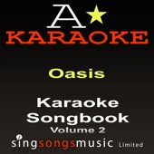 Karaoke Songbook (Originally Performed By Oasis - Volume 2) {Karaoke Audio versions}