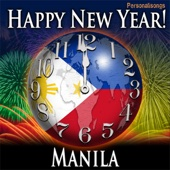 Happy New Year Manila with Countdown and Auld Lang Syne