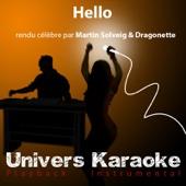 [Download] Hello (Rendu célèbre par Martin Solveig & Dragonette) [Version karaoké] MP3