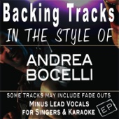 Backing Tracks in the style of Andrea Bocelli - EP (Backing Tracks) - EP