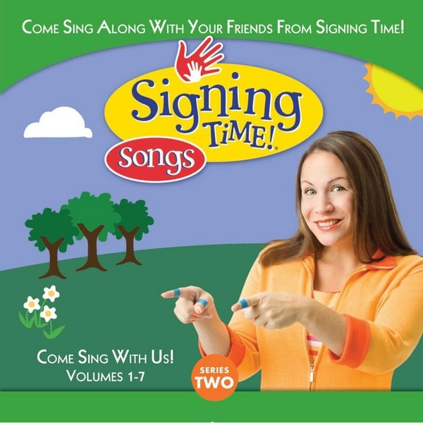 Signing Time Series Two Vol 1-7 Various Artists CD cover