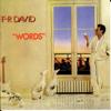 F.R. David - Words (Original Version 1982) illustration