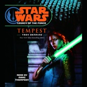 Troy Denning - Star Wars: Legacy of the Force #3: Tempest  artwork