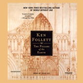 The Pillars of the Earth (Unabridged) - Ken Follett Cover Art
